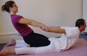 Massage de détente avec l'école de massage